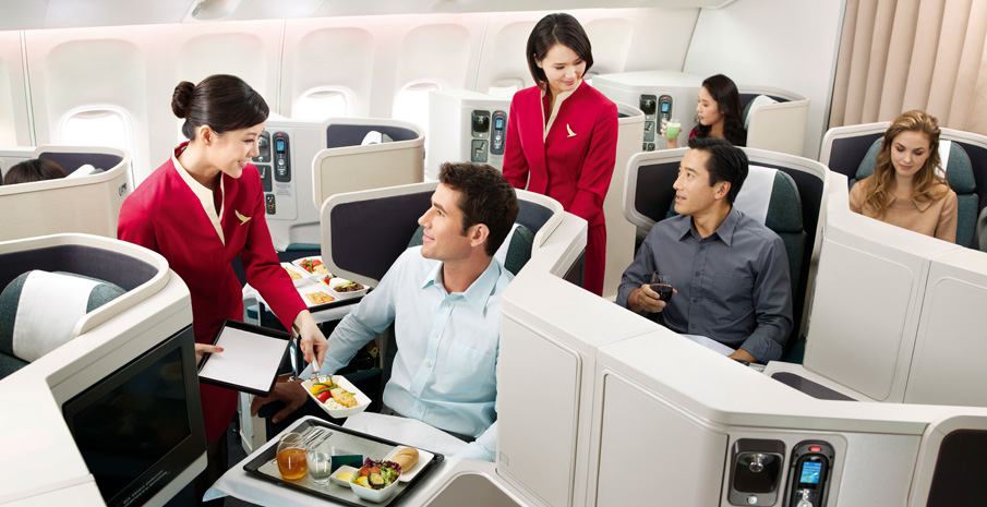 Dịch vụ hạng sang của Cathay Pacific